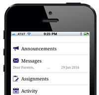 teacher app feature